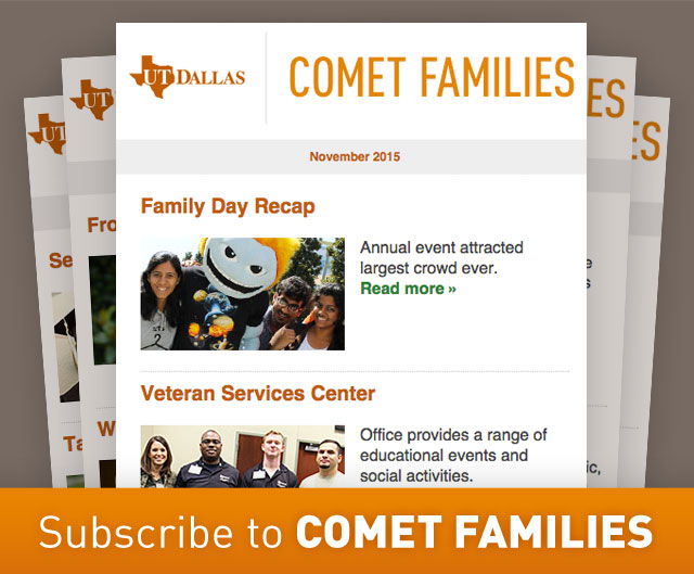 subscribe to Comet Families